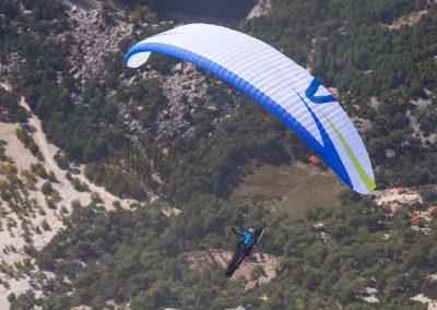skywalk SPICE paraglider white lightweight