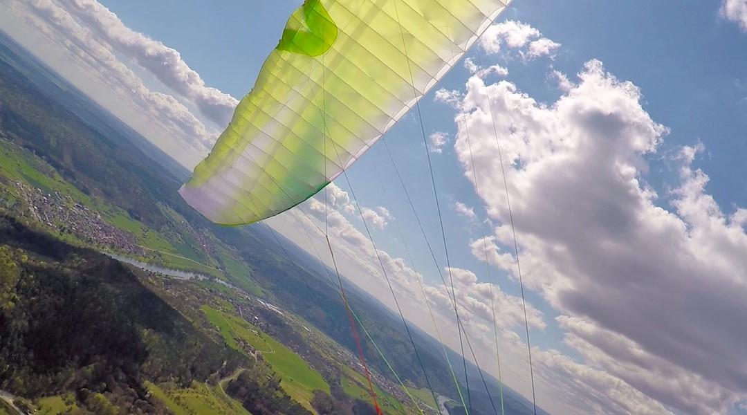 Nachgelegt – Armin Harich fliegt 244 Kilometer mit dem ARRIBA3