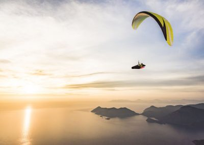 skywalk SPICE paraglider lime grün lightweight