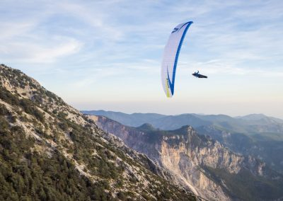 skywalk SPICE paraglider weiß lightweight