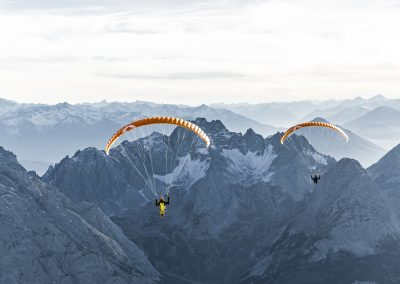 skywalk TONKA2 paraglider orange miniwing