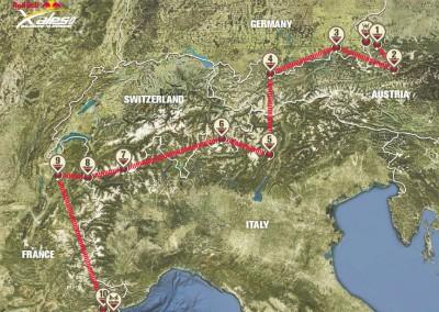 X-Alps-Route