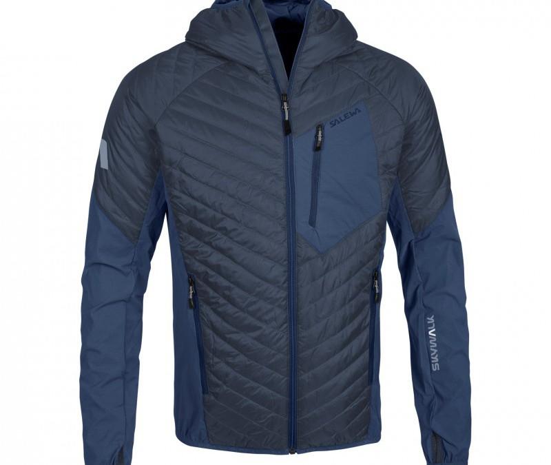 Ortler Hybrid-Jacke in zeitlosem Blau