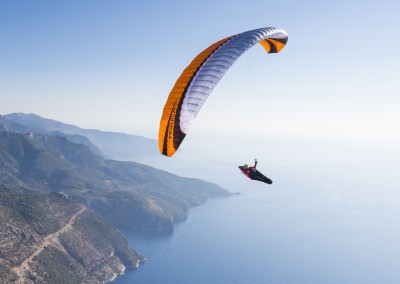 skywalk TEQUILA4 orange paraglider