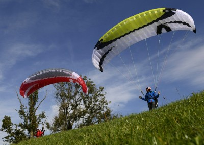 skywalk TONIC paraglider rot grün miniwing