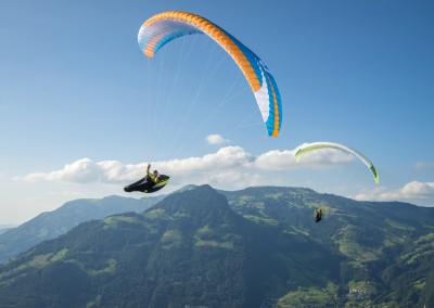 skywalk ARRIBA3 blau paraglider lightweight
