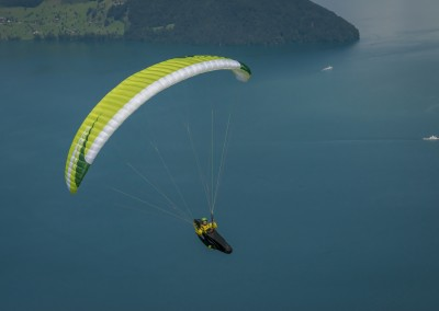 skywalk ARRIBA3 grün paraglider lightweight