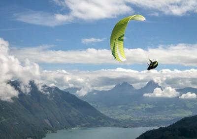 skywalk ARRIBA3 grün paraglider lightweight