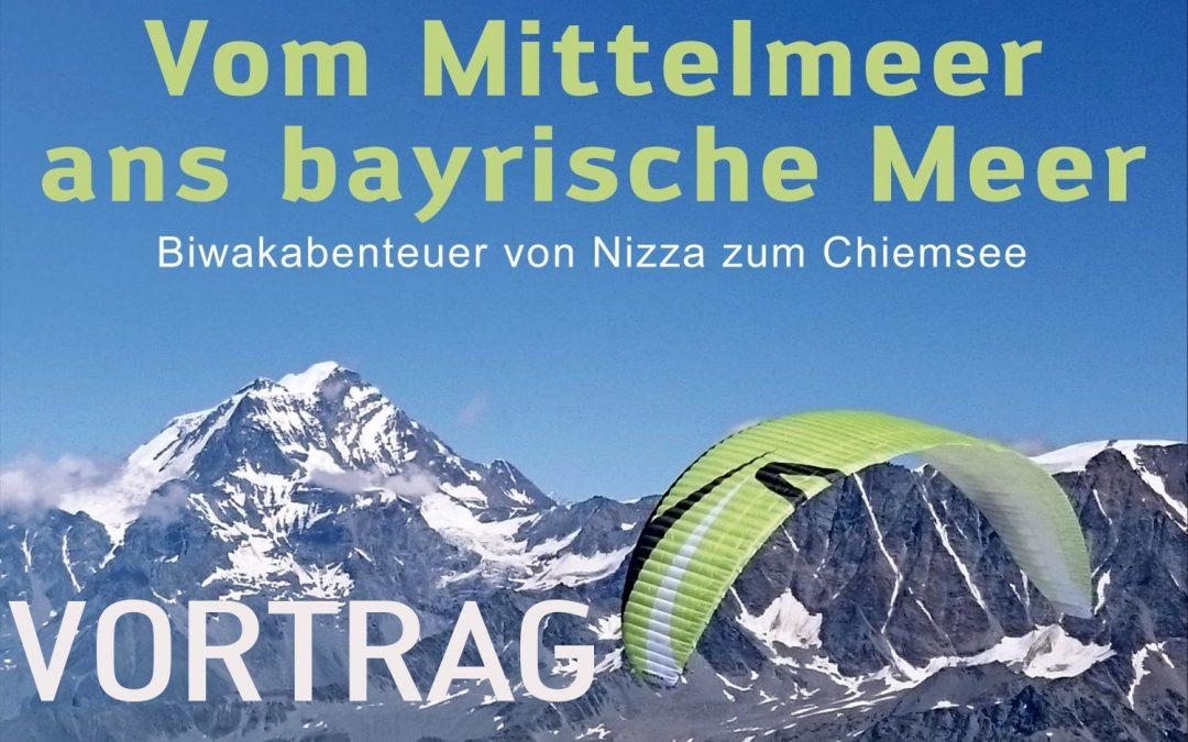 Vom Mittelmeer ans Bayerische Meer – Vortrag von skywalk Teampilot Philipp Ott