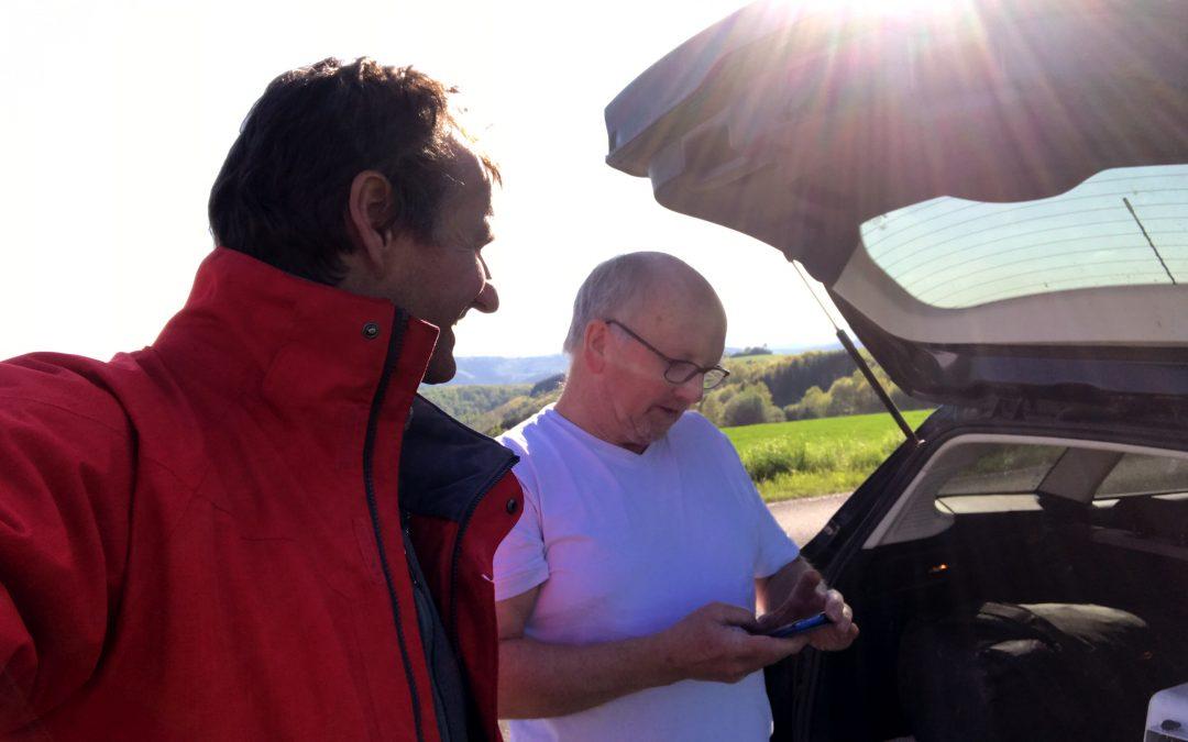 Im Deutschen Flachland über 200 km – Armin Harich, Wolfgang Freund und Sven Nissen did it!