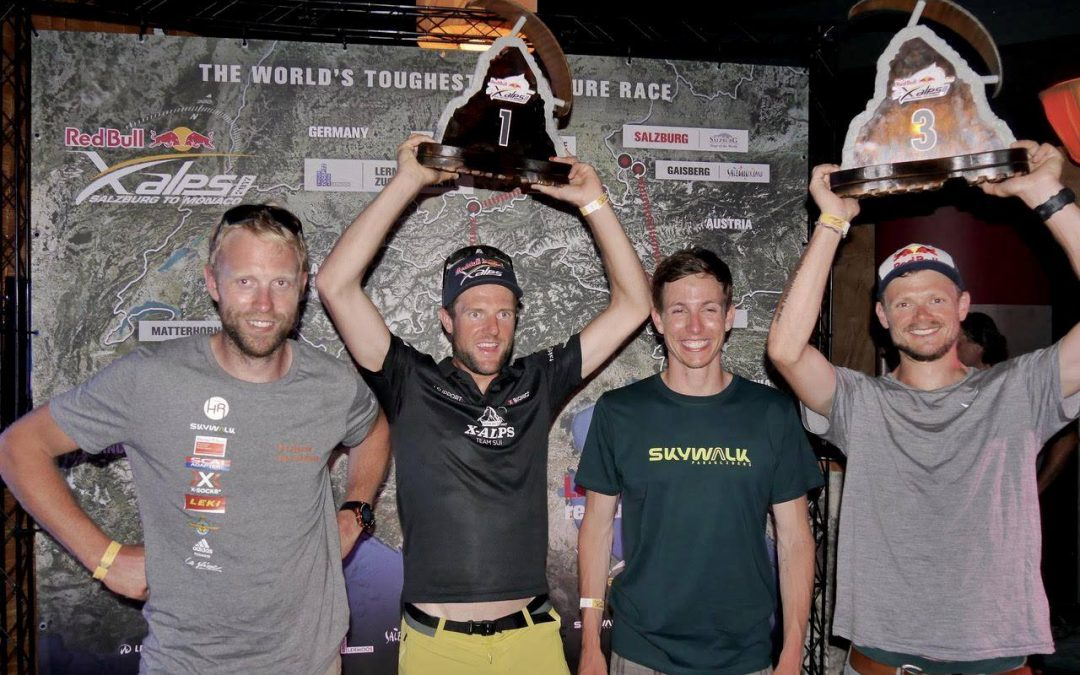 skywalk teams dominate the Red Bull X-Alps 2017