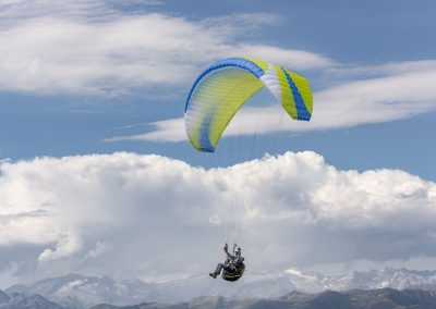 skywalk paraglider MASALA Lime