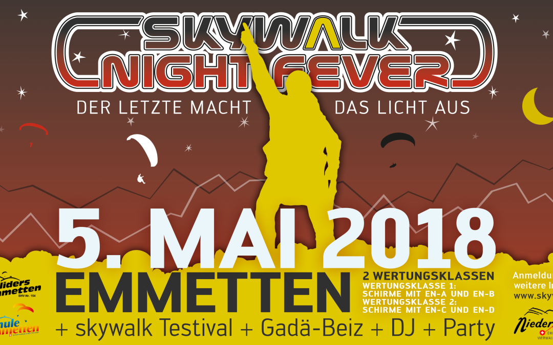 skywalk Night Fever 2018