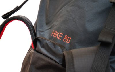 New HIKE 80L lightweight backpack