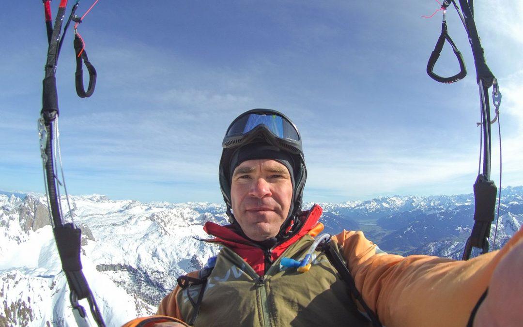 Teampilot Jo Blum beginnt die Saison mit 139 km Flug