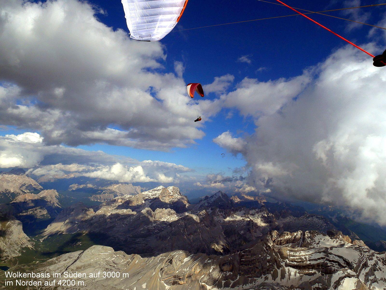 Oliver Teubert - Flug Grente, Italien - skywalk paragliders