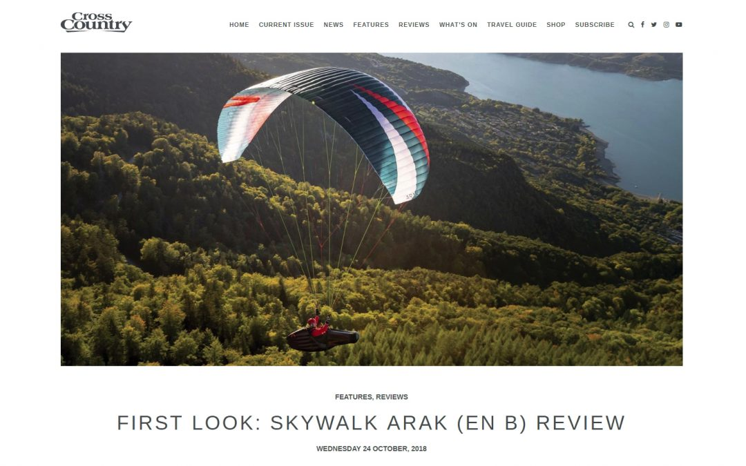 First Look: skywalk ARAK review – Cross Country Magazine