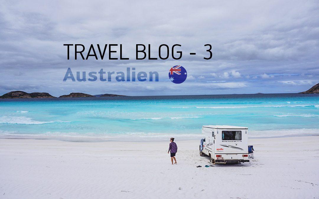 Travel Blog 3 – Australien // Burkhard Martens & Nina Brümmer