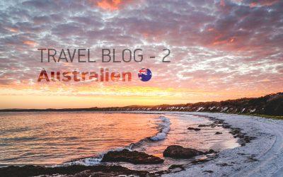 Travel Blog 2 – Australien // Burkhard Martens & Nina Brümmer