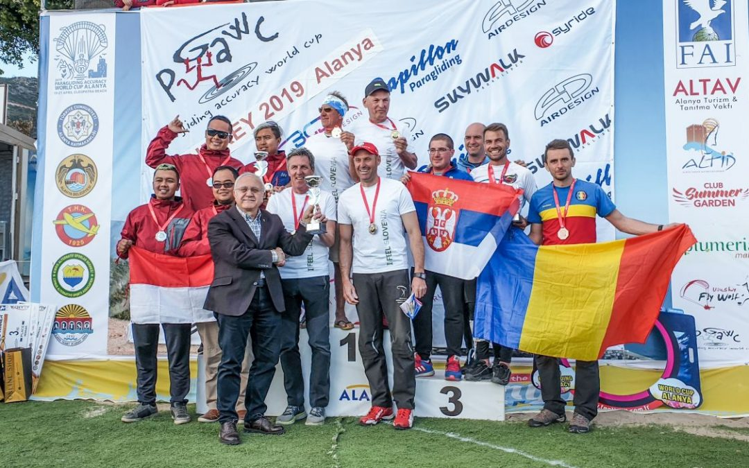 PGAWC Tourstop 1 – skywalk auf dem Podium
