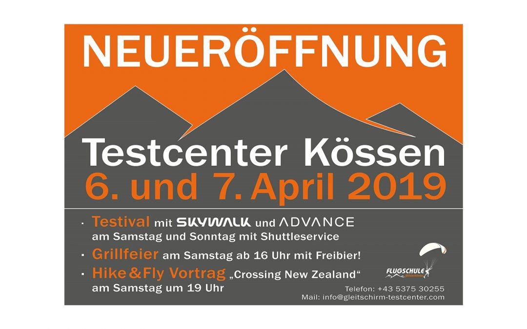 Eröffnung – Testcenter Kössen