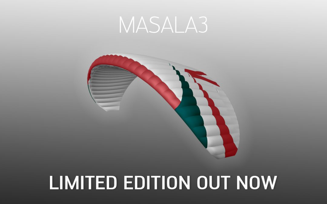 "MASALA3 Limited Edition ""White"" available now!"