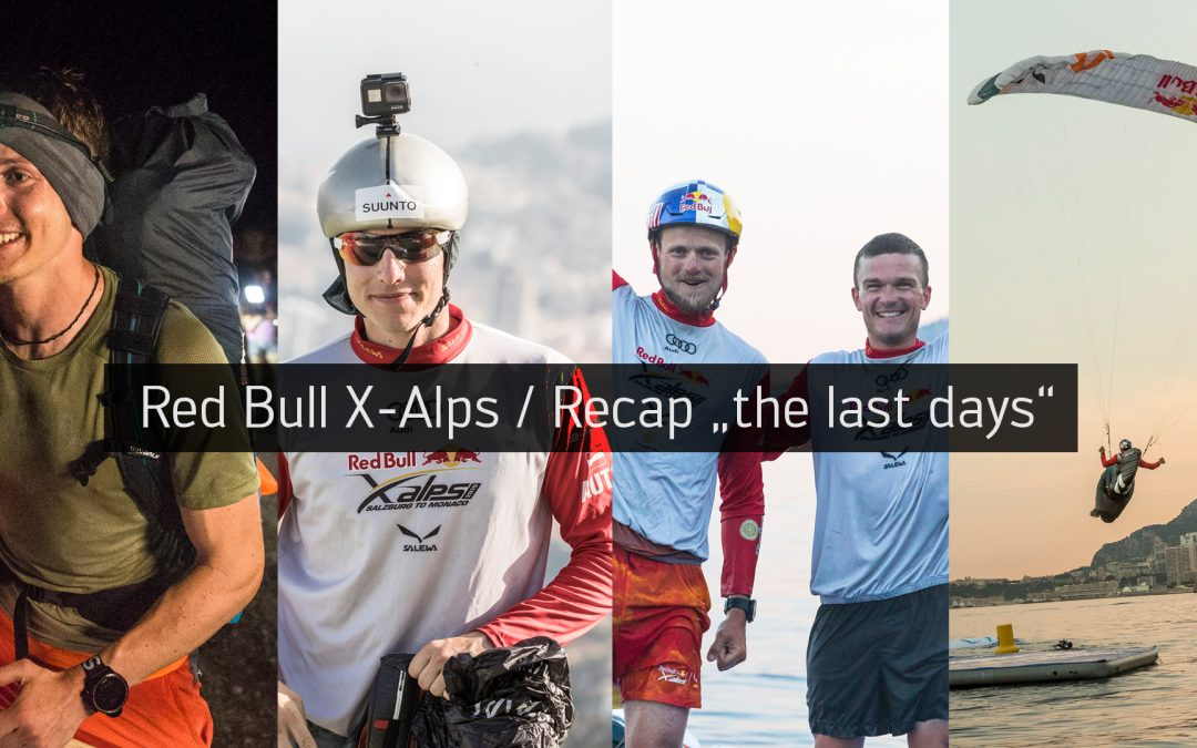 Red Bull X-Alps / Recap «the last days»
