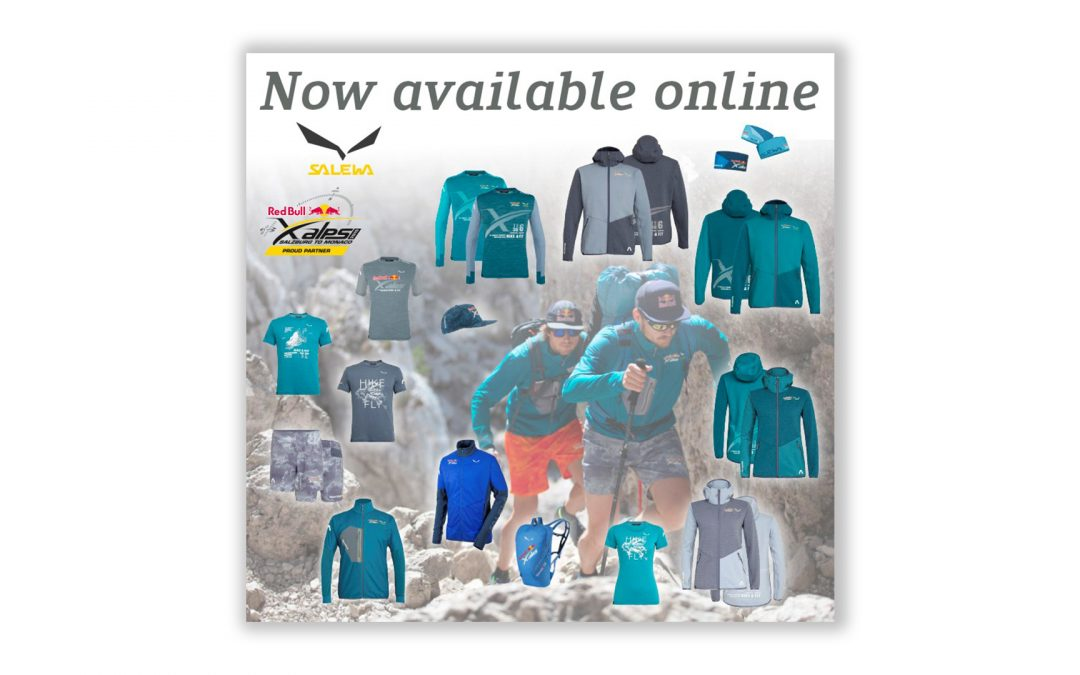 skywalk x SALEWA x Red Bull X-Alps – collection online available!