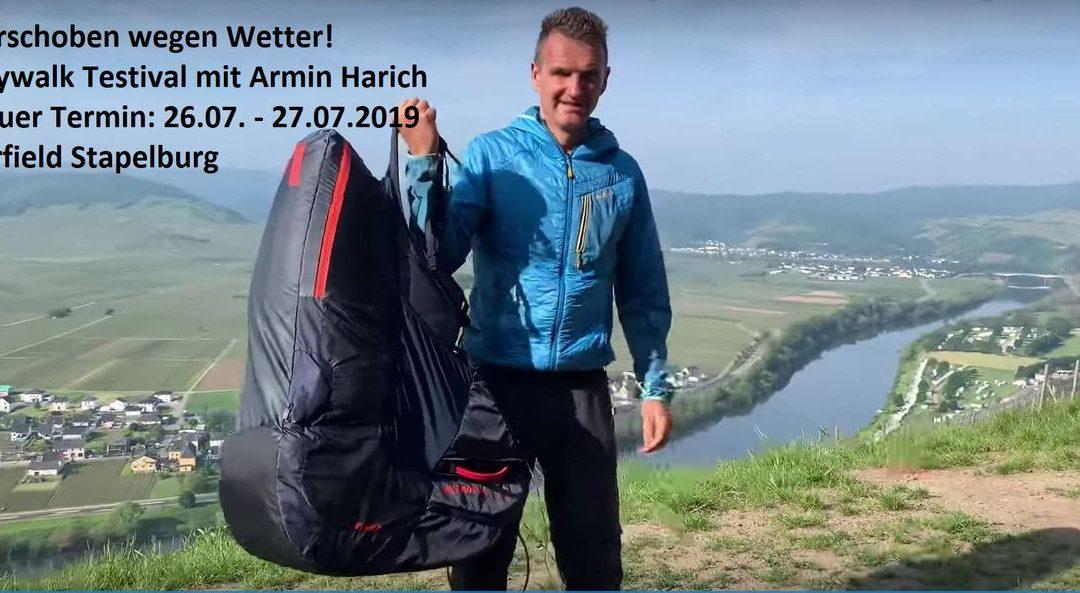 Paracenter Testival mit Armin Harich / 26.07 – 27.07.2019