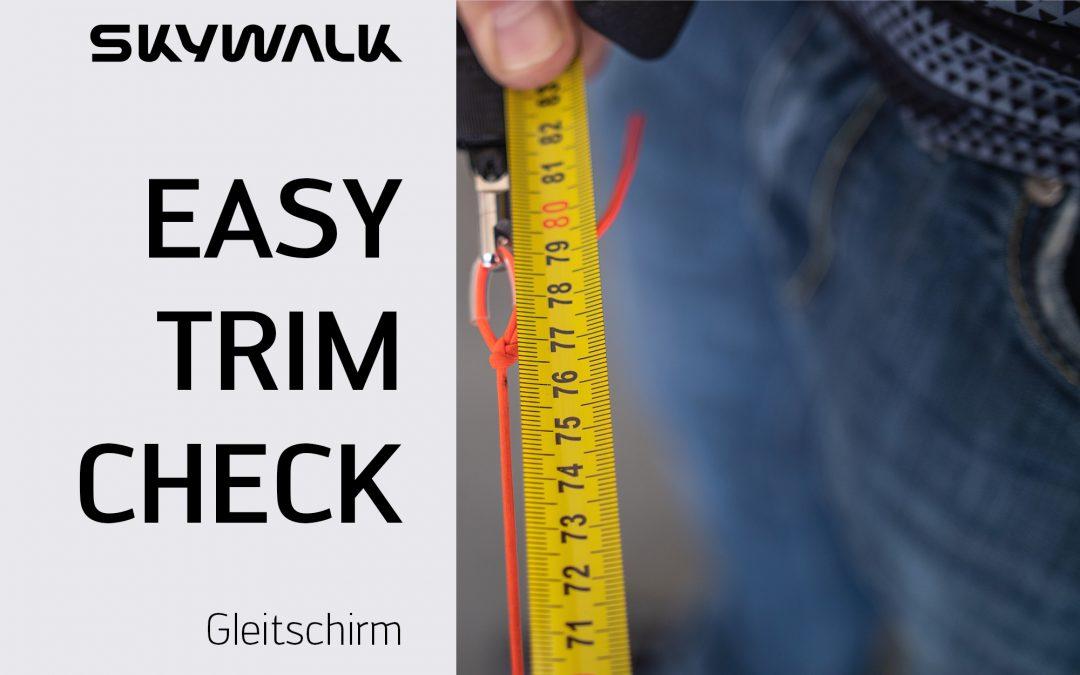 Info – skywalk Easy-Trim-Check