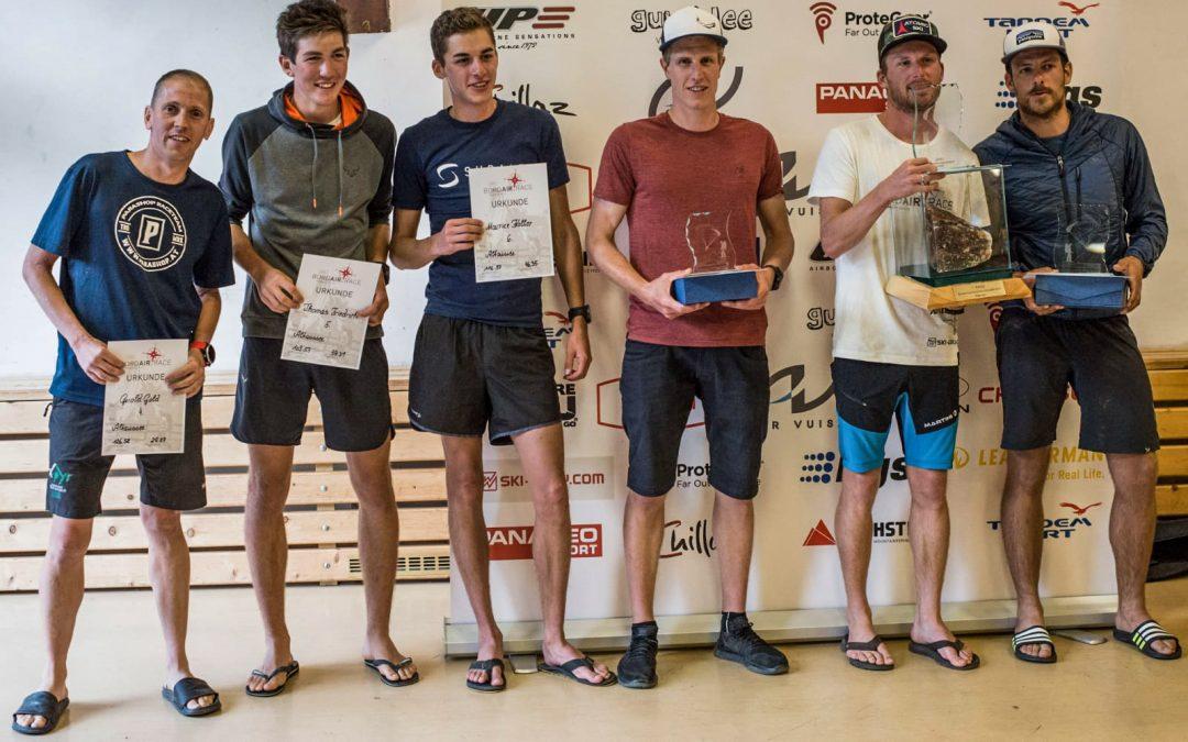 skywalk Athleten erfolgreich am Bordairrace Altaussee!