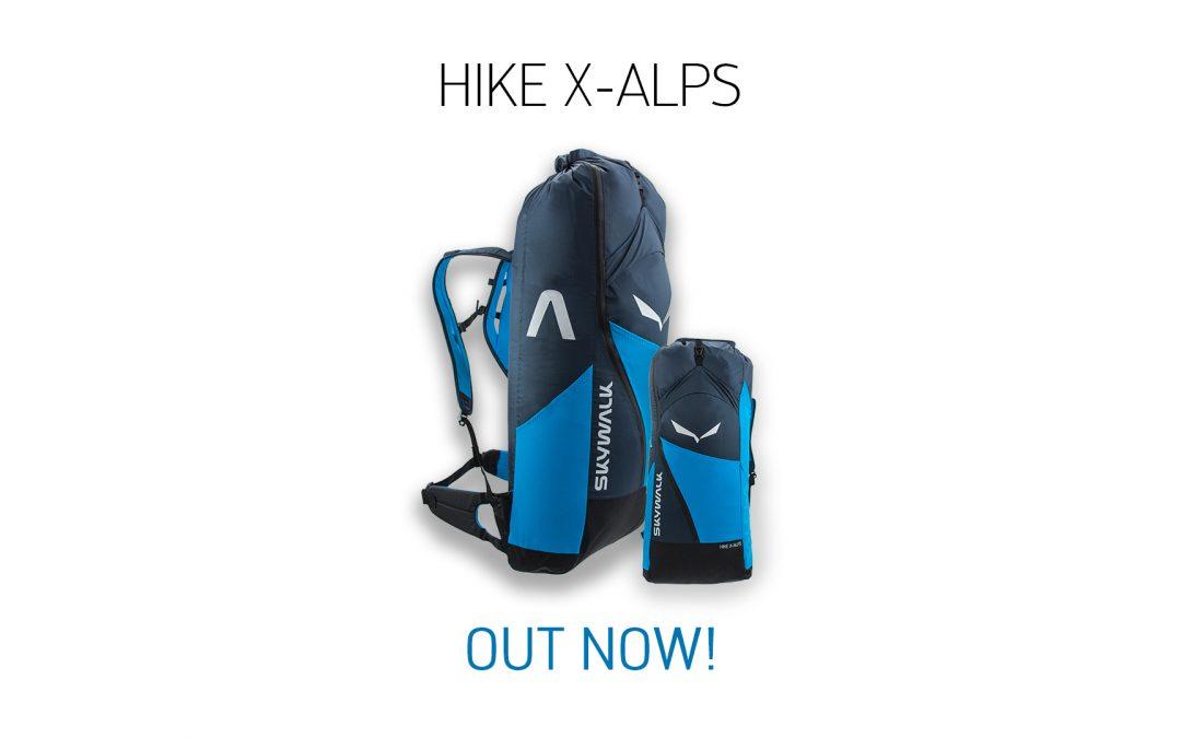 Packsack HIKE X-ALPS – Jetzt erhältlich!