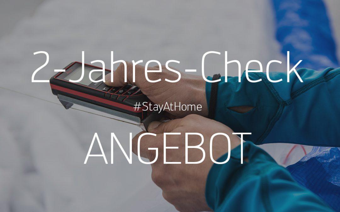 2-Jahres-Check / #StayAtHome ANGEBOT – Angebot ist beendet