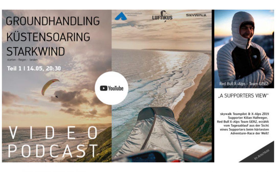 Video Podcast | GROUNDHANDLING – KÜSTENSOARING – STARKWIND