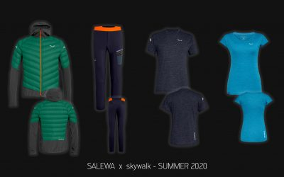 SALEWA x skywalk – Collection 2020 available immediately