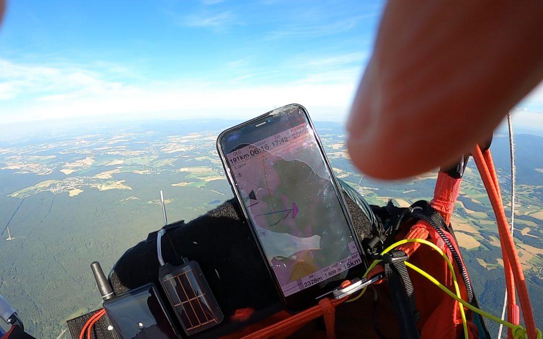 Armin Harich fliegt neuen Wasserkuppen-Rekord mit CAYENNE6 (258 km)