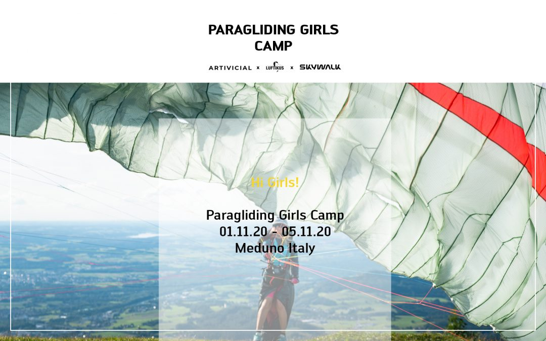 Paragliding Girls Camp with Elisa Deutschmann (@artivicial)