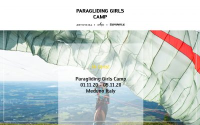 Paragliding Girls Camp with Elisa Deutschmann (@artivicial)