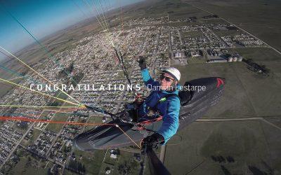 Teampilot Damian Lestarpe successful in XContest