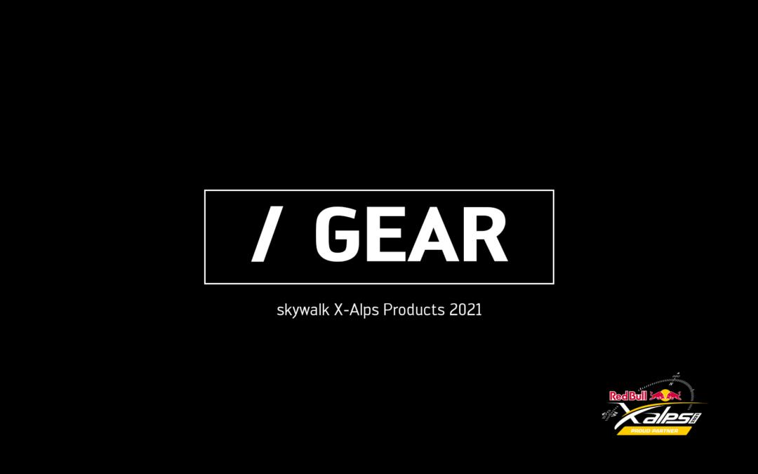 skywalk X-Alps gear